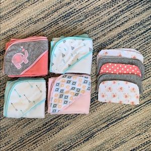 Baby Hooded Towels & Washcloths